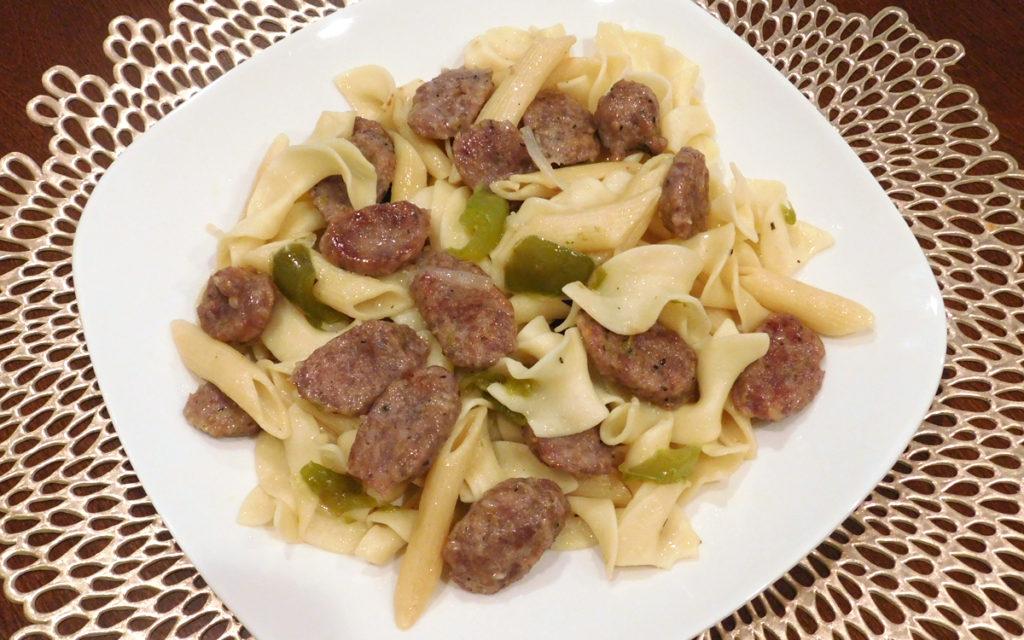 pasta italian sausage
