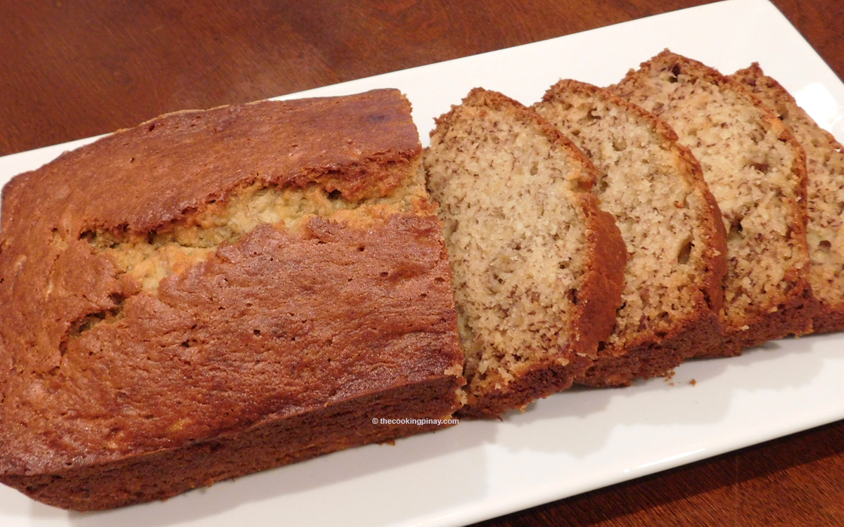 Simple, Moist Banana Bread Recipe