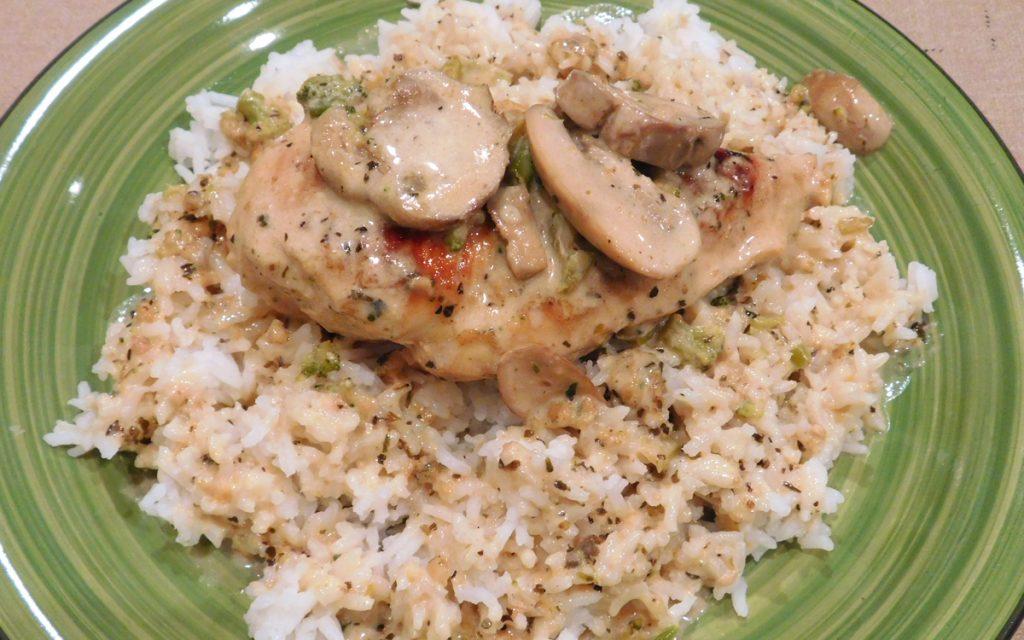 Creamy Parmesan Herb Chicken TN1