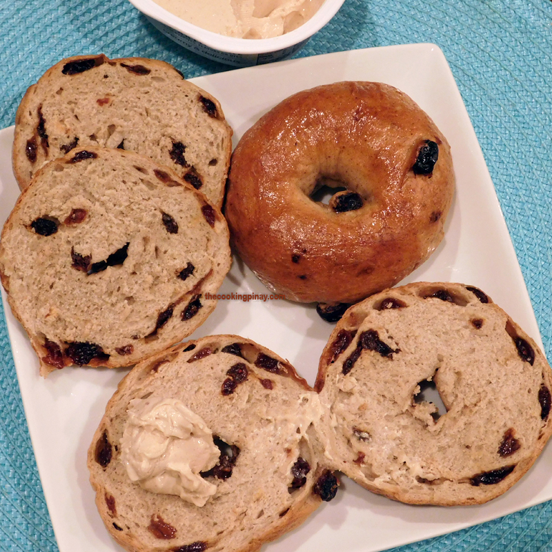 New York Style Cinnamon Raisin Bagel Recipe