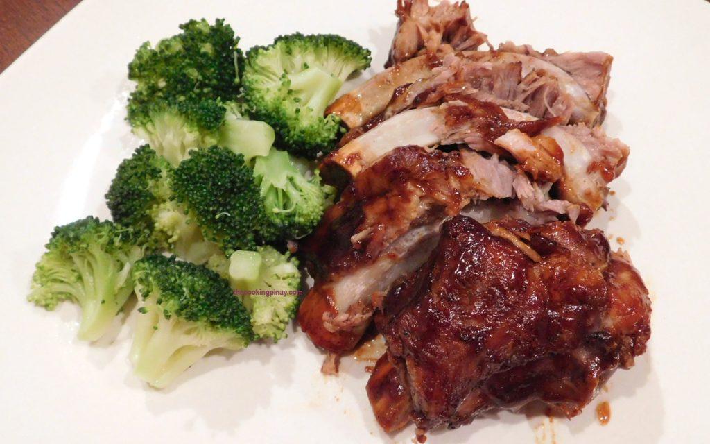 Fall Off the Bone Pork BBQ Spare Ribs Recipe