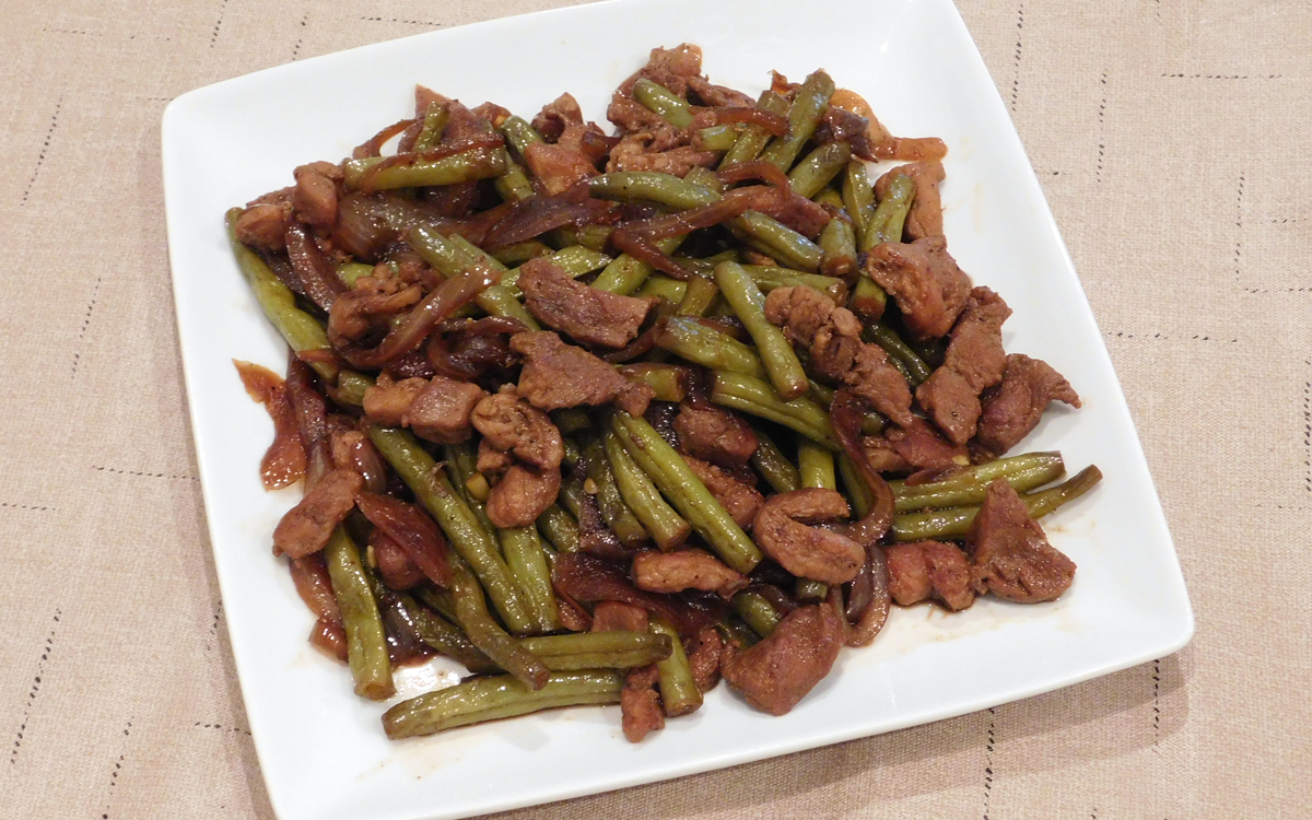 Pork and Beans Adobo (Adobong Sitaw)